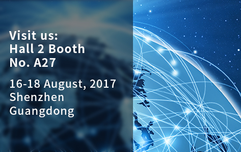 Visit us at the 9th IoTE on 16-18 August 2017